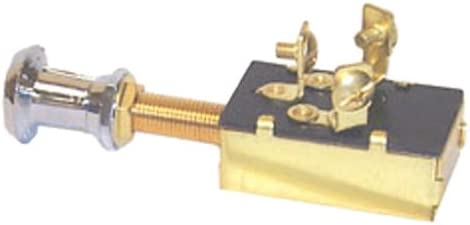 New Push-pull Switch sierra Mp39580 Off//On 1//On 1/&2 SPDT Terminals 3 screw Knob