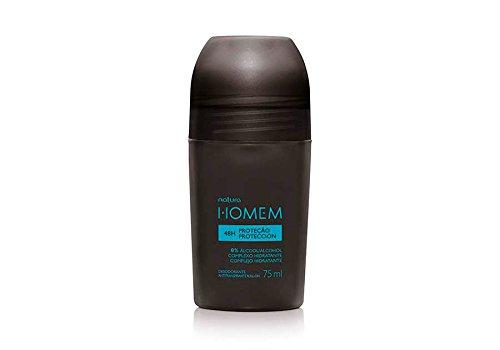 Natura Homem Antiperspirant Deodorant Roll-on Natura Man - 75ml 48h protection Nature Anti Perspirant