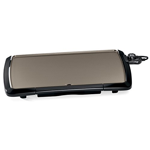 - Presto 07055 Cool-Touch Electric Ceramic Griddle, 20
