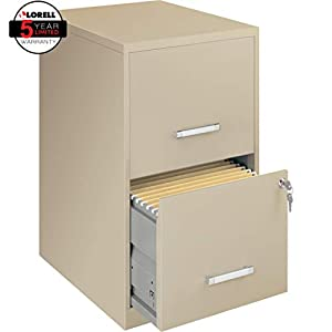 Lorell 18 Deep 2-Drawer File Cabinet
