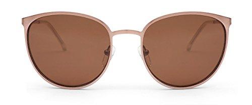 OTIS Eyewear Rumours : Rose Gold/Brown Polarized Womens - 1970 Glasses Frames