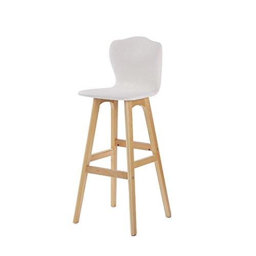 taburetes de cocina Las sillas de madera sólidas de la barra mueven hacia atrás las sillas, usted puede utilizar una...