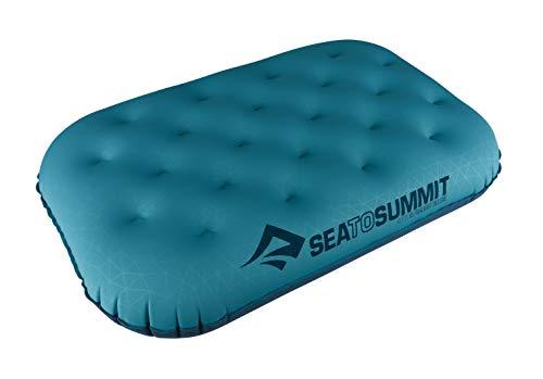 Sea to Summit Aeros Ultralight Pillow Deluxe, Aqua, Deluxe (Sea To Summit Aeros Premium Deluxe Pillow)