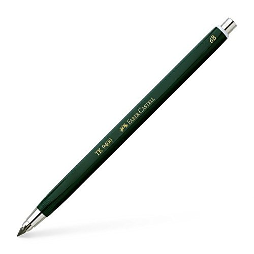 Faber-castell Tk9400 3mm 6b Clutch Pencil