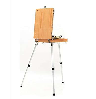 Easels Portable Wooden Painting Box Sketching Aluminum Alloy