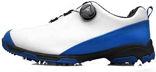 ゴルフシューズ、防水ノンスリップスポーツシューズ、アウトドアカジュアルシューズ (Color : A, Size : 44EU)