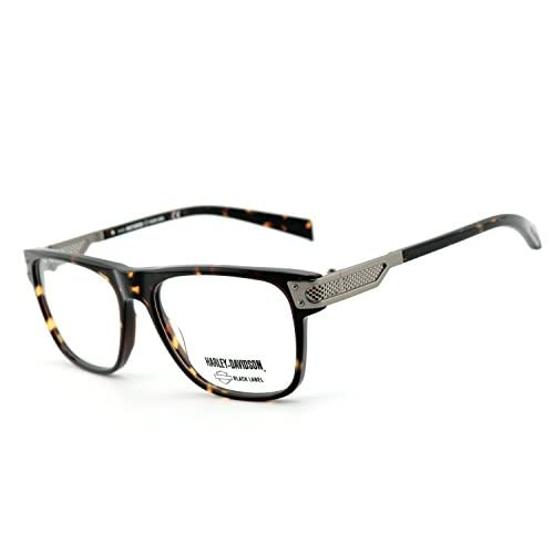 021d26abad Harley-Davidson - Montura de gafas - para hombre multicolor Schwarz,  Havanna De alta