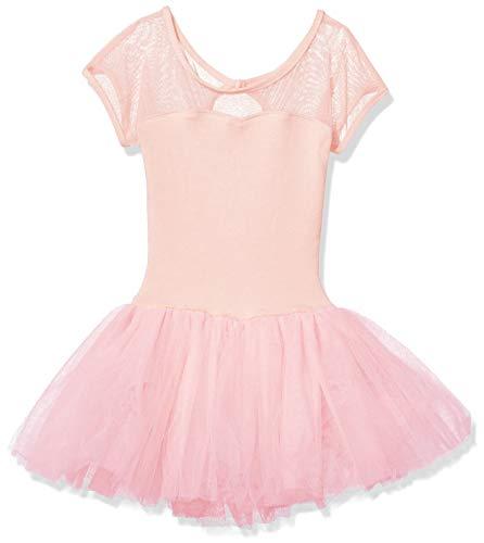Capezio Girls' Little Keyhole Back Tutu Dress, Pink, ()