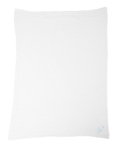 Colorado Clothing Kid's Crib Cloud Infant Blanket, White, One Size