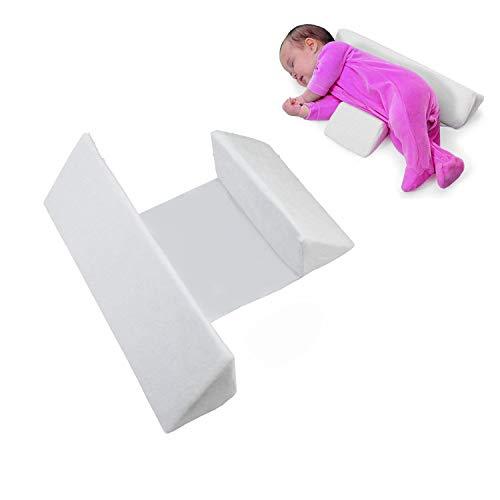 Toptik Newborns Infant Baby Sleep Pillow, Comfortable and Washable (White)