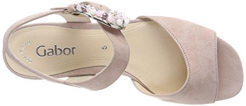 Gabor Dames Mode Strap Sandalen Veelkleurige (oudroze)