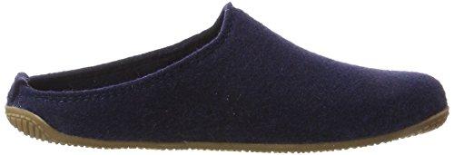 Blau Pantofole Pantofola Living Unisex Adulti Filz Kitzbühel Alpenmoos nachtblau waqqF0nXx