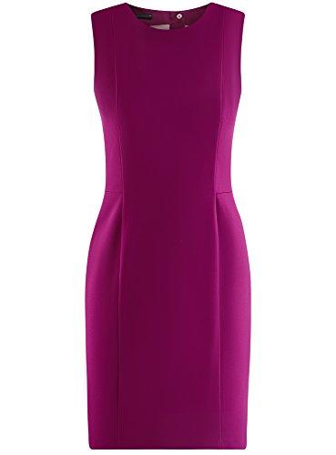 Collection 4c00n Ajuste oodji Violet Basique Robe Femme aqqFTwd