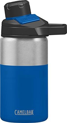 CamelBak Chute Mag Stainless Water Bottle, 12oz, Cobalt (Steel Chute)