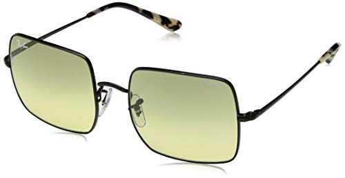 - Ray-Ban RB1971 Square Evolve Photochromic Metal Sunglasses, Black/Photochromic Yellow Gradient, 54 mm