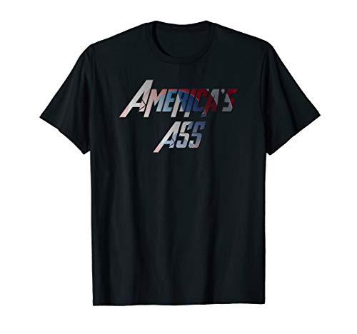 America's Ass Funny T-Shirt (Ass Womens T-shirt)