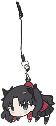 Fate/Stay Night UBW Rin Tohsaka Pinch Mobile Phone Strap Dust Plug (Fate Stay Night Phone Charm)