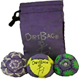 Dirtbag All Star 3 Pack - Fluorescent Yellow/Purple, w/Purple Pouch