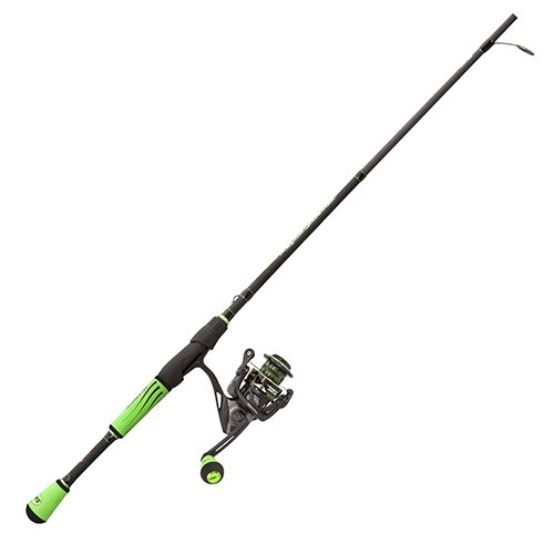 Lew's Fishing M23069MFS Lews Fishing, Mach II Spinning Combo, 6.2: 1 Gear Ratio, 10 Bearings, 6'9″ 1Piece, Medium/Fast Power. Ambidextrous For Sale