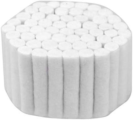 Healifty - 5 rollos de algodón de gasa dental, no estériles, de algodón absorbente, almohadillas de bastón de limpieza, tapones para la nariz para niños y adultos: Amazon.es: Industria, empresas y ciencia