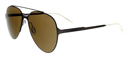 Carrera 113/s Aviator Sunglasses, MATT Brown, 57 ()