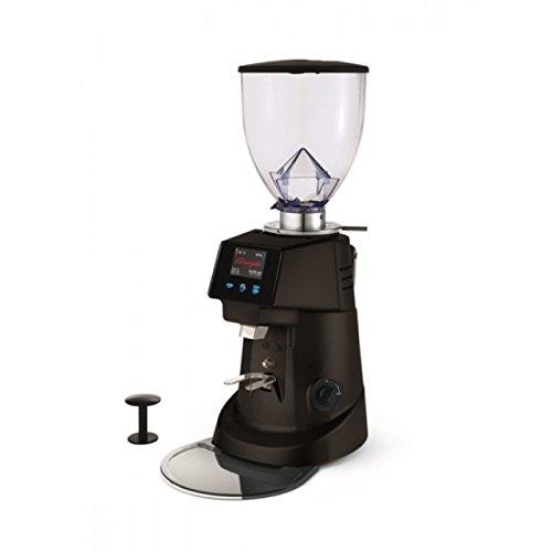 Fiorenzato F64 Evo Electronic Coffee Grinder, Black, Made in Italy by Fiorenzato