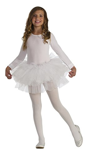 [Forum Novelties Kids Fluffy Tutu Costume, White, One Size] (Swan Halloween Costumes)