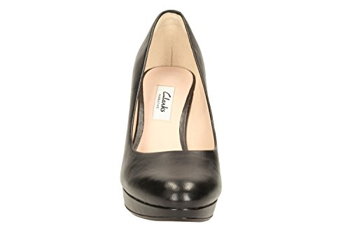 Sienna Escarpins Kendra Femme black Clarks Leather Noir wE6qd6n5