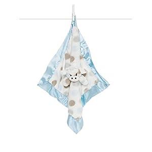Little Giraffe Little G Blanky – Animal Security Blanket, Blue