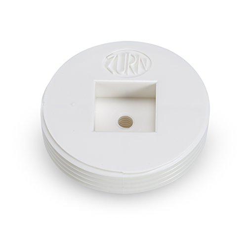 0.5 Cleanout Plug (Zurn CO2490-P25 PVC Countersunk Cleanout Plug, 1/2