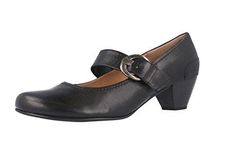 Gabor Shoes 05.458 Pumps Da Donna Con Cinturino Alla Caviglia Nero