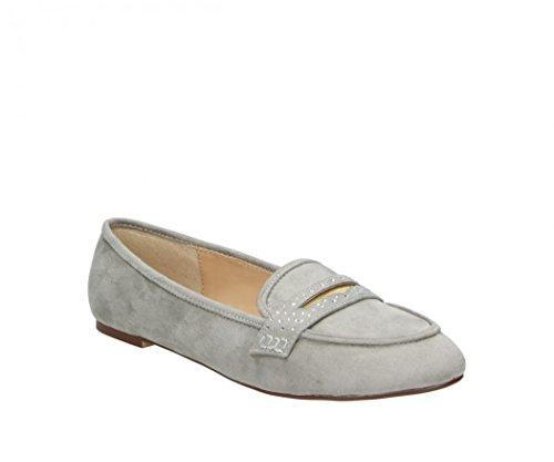 FITTERS FOOTWEAR - Damenschuhe Ballerinas - Alena in light grau MF - Schuhe in Übergröße - Schuhgrößen 42 bis 45
