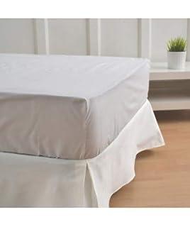 10XDIEZ Cubre CANAPÉ Blanco Roto - Medidas canapé - 90cm