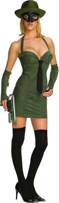 [Morris Costumes Green Hornet Adult Sexy Lg Dress Fits Sizes 10-14 Popular] (Wizard Wanda Halloween Costume)