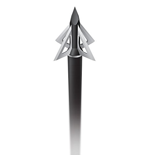 Slick Trick Magnum 100 GR Broadhead (Pack of 4), 1-1/8', Black