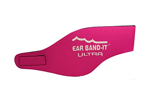 EAR BAND-IT ULTRA Swimming Headband - Best Swimmer's Headband - Keep Water Out, Hold Earplugs In - Doctor Recommended - Water Protection - Secure Ear Plugs - Invented by ENT Physician
