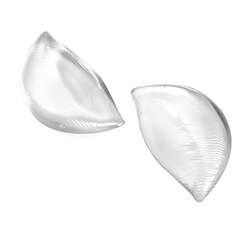 Mayuber Silicone Bra Inserts and Breast Pads Enhancers Push-up Bra for Women,Transparent