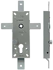 Cerradura acorazable multipunto para puertas basculantes interasse 70mm Viro–4puntos de cierre