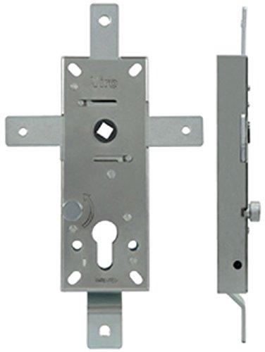 Cerradura acorazable multipunto para puertas basculantes interasse 70 mm Viro – 4 puntos de cierre
