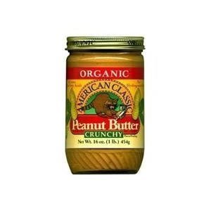 Once Again Organic American Classic Crunchy Peanut Butter, 16 Ounce -- 12 per case.