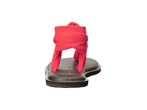 Yoga flop M Flip Red Women's Mat Bright 6 Sanuk Us PqnA5BIwx