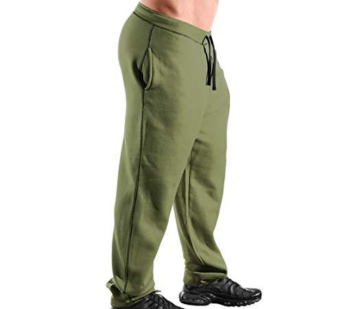 Monsta Clothing Co. Men's Workout (ES:HRD-LVN Classic-000) Sweatpants (G:MG/BK)