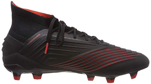 19 Negbás Calcio rosso Predator negbás Adidas Multicolore 000 Scarpe Da 1 Uomo Fg nero rojact 5YSnUY1