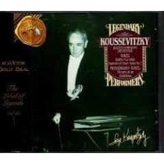 Mussorgsky: Pictures at an Exhibition/ Ravel: Daphnis and Chloe Suite 2, and La Valse/ Debussy: Sarabande/ Serge Koussevitzsky