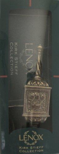 Lenox KIRK STIEFF 'JUDAIC' Collection PEWTER HANUKKAH DREIDEL Chanukah (Circa Early 1990's USA) ()