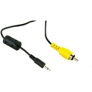 Amazon Com 2 5mm Mono Male To Single Rca Male Cable 6