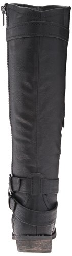 Rampage Women's Hansel Wide Calf Riding Boot Black ILRrVnpx