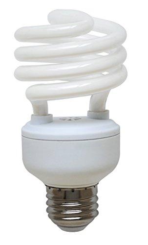 Compact Lamp 15000 Fluorescent Hour (Goodlite G-10849 23-Watt CFL 100 Watt Replacement 1620-Lumen T2 Spiral Light Bulb, Super Long 15,000 hour life (13.9 Years) Warm white 2700k)
