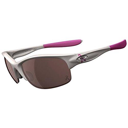 Oakley Womens Commit Iridium Rimless Sunglasses ,Polished White Frame/G20 Black Lens,One - For Prescription Sunglasses Women Oakley