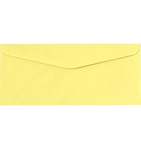Canary Mailers - LUX Paper #10 Regular Envelopes, 4 1/8